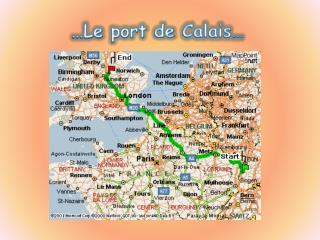 Le port de Calais