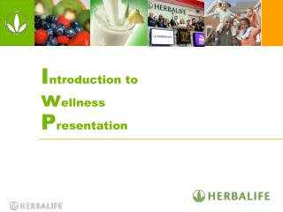 Introduction to  wellness  Presentation