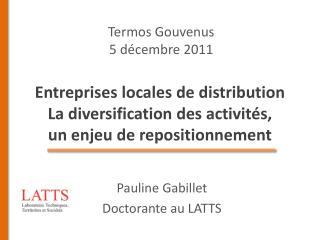 Entreprises locales de distribution La diversification des activit s,  un enjeu de repositionnement