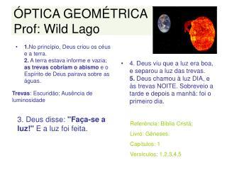 PTICA GEOM TRICA Prof: Wild Lago