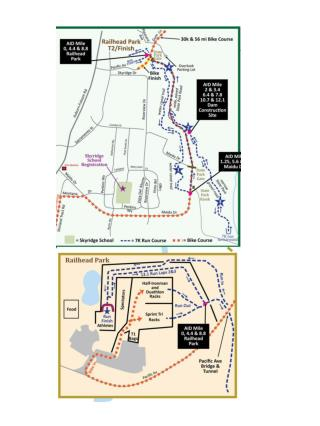 Auburn Triathlon Run Course