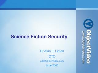 Science Fiction Security