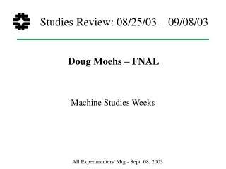 Studies Review: 08