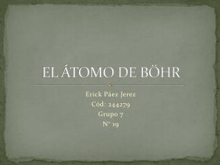 EL  TOMO DE B HR