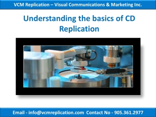 Understanding the basics of CD Replication