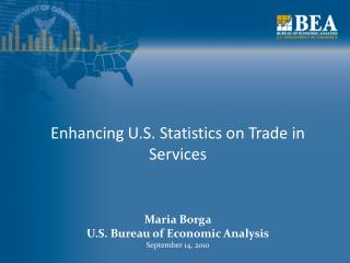 Enhancing U.S. Statistics on Trade in Services