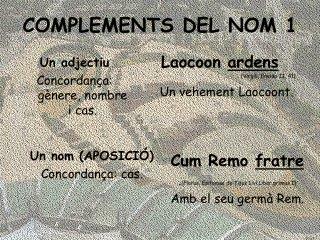 COMPLEMENTS DEL NOM 1