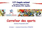 Carrefour des sports