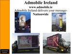 Admobile Ireland admobile.ie