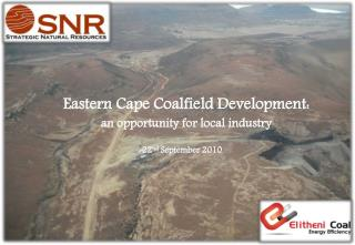 Eastern Cape Coalfield Development:  an opportunity for local industry