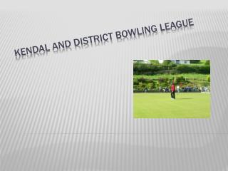 Kendal and District Bowling League