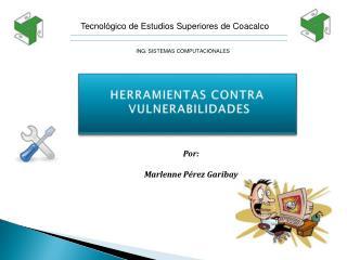 HERRAMIENTAS CONTRA  VULNERABILIDADES