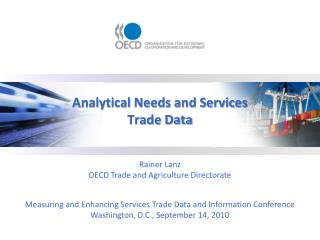 Analytical Needs and Services Trade Data
