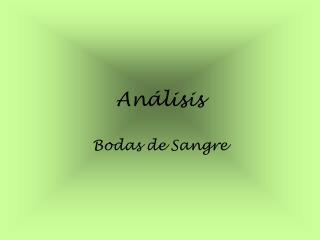 An lisis