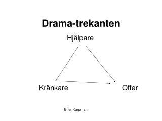Drama-trekanten