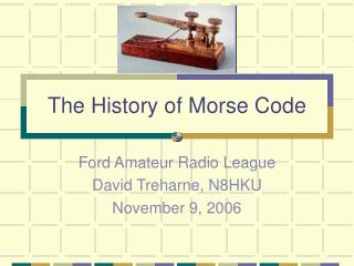 The History of Morse Code