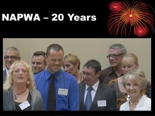 NAPWA   20 Years
