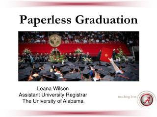 Paperless Graduation