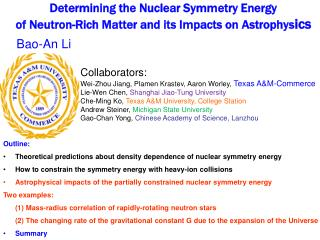 Determining the Nuclear Symmetry Energy  of Neutron-Rich Matter and its Impacts on Astrophysics