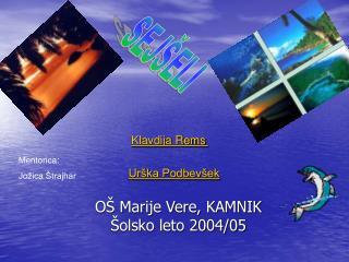 O  Marije Vere, KAMNIK              olsko leto 2004