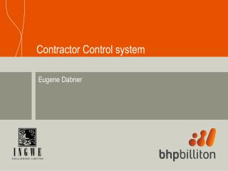 Contractor Control system