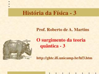 Hist ria da F sica - 3