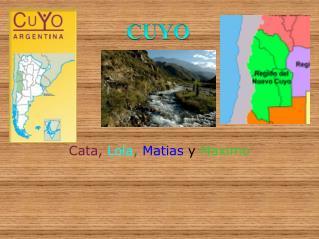 Cata, Lola, Matias y Maximo