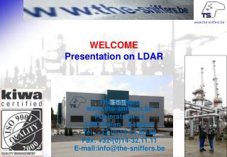 WELCOME  Presentation on LDAR