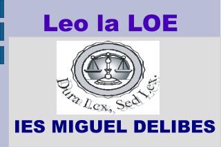 Leo la LOE