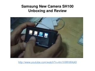 Samsung New Camera SH100 Unboxing and Review