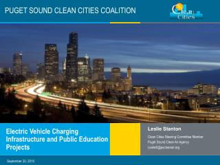PUGET SOUND CLEAN CITIES COALITION