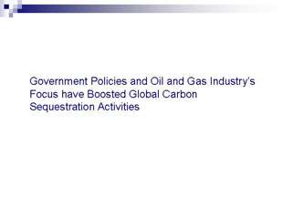 Government Policies and Oil and Gas Industry???s