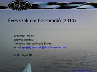 ves szakmai besz mol  2010