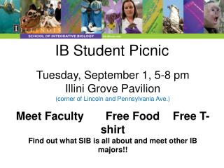 IB Student Picnic