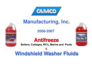 Manufacturing, Inc.     2006-2007
