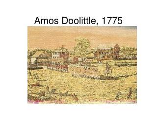 Amos Doolittle, 1775