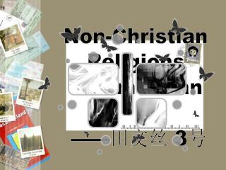 Non-Christian  Religions  in American     3