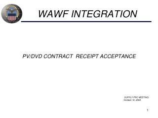 WAWF INTEGRATION