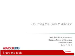 Courting the Gen Y Advisor