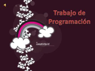 Trabajo de Programaci n