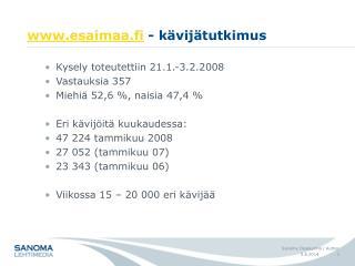 Esaimaa.fi - k vij tutkimus