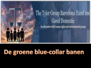 De groene blue-collar banen