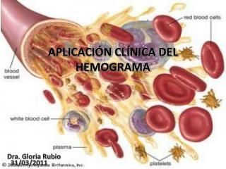 APLICACI N CL NICA DEL HEMOGRAMA
