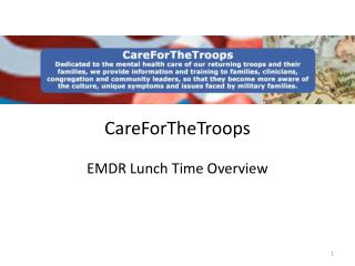 CareForTheTroops  EMDR Lunch Time Overview