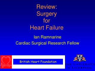 Review: Surgery  for  Heart Failure