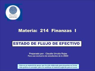 Preparado por:  Claudio Urrutia Rojas Para uso exclusivo de estudiantes de la UNED