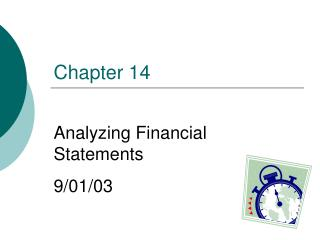 Analyzing Financial Statements 9