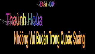 Tha nh Ho a
