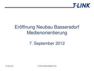 Er ffnung Neubau Bassersdorf Medienorientierung