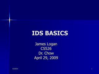 IDS BASICS